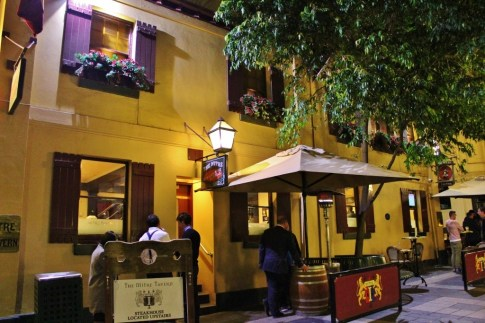 Mitre Tavern on Bank Place is the oldest building in Melbourne - sort of an original of Laneways