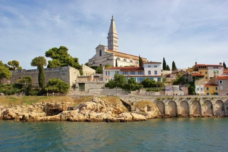 St. Euphemia Church from sea.