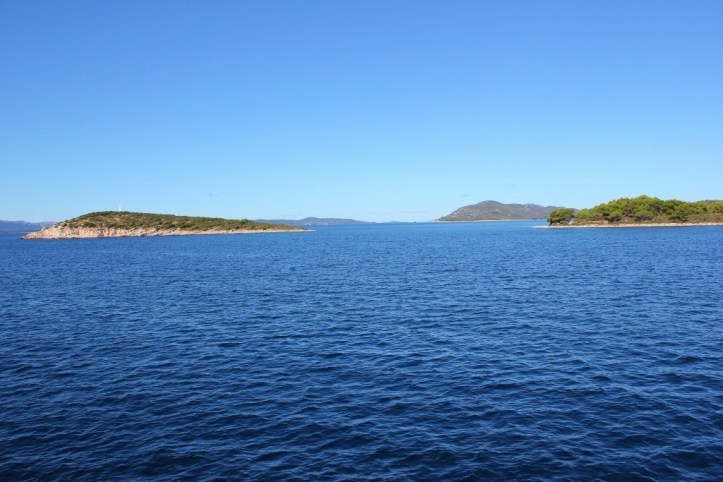 Islands of the Zadar Archipelago in Croatia