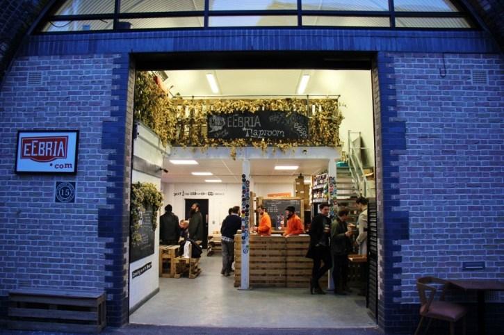 EeBria Craft Beer Distributor on the Bermondsey Beer Mile, London Craft Beer Crawl