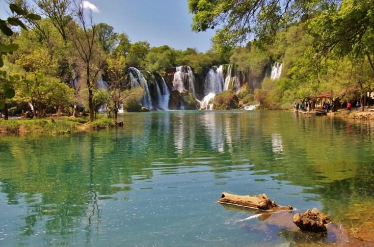 Kravica Waterfalls near Mostar, Bosnia-Herzegovina
