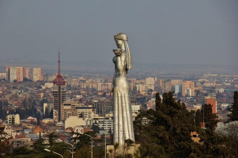 Mother of Georgia, Tbilisi, Georgia