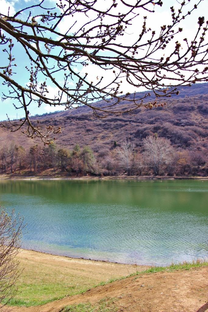 Turtle Lake in early spring, Tbilisi, Georgia