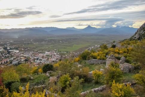 Views from Fortress near Mostar, Bosnia and Herzegovina