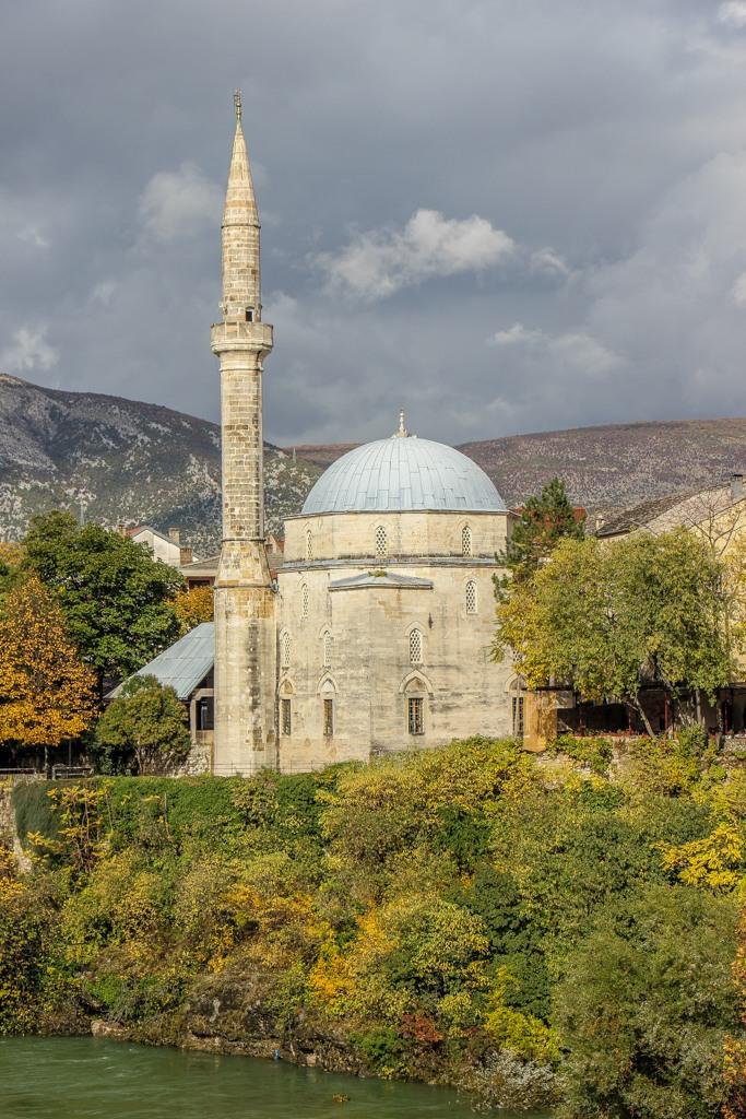 Koski Mehmed Pasha Mosque in Mostar, Bosnia and Herzegovina