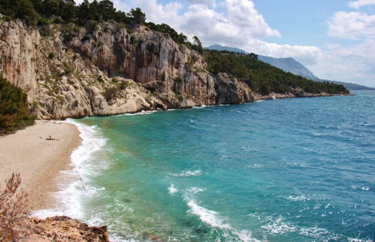 Nugal Nude Beach, Makarska, Croatia