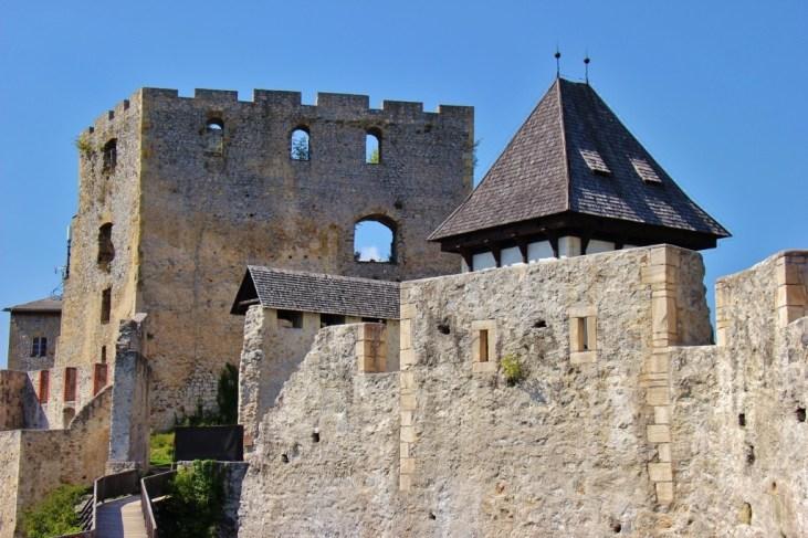 Visiting Celje Castle in Celje, Slovenia
