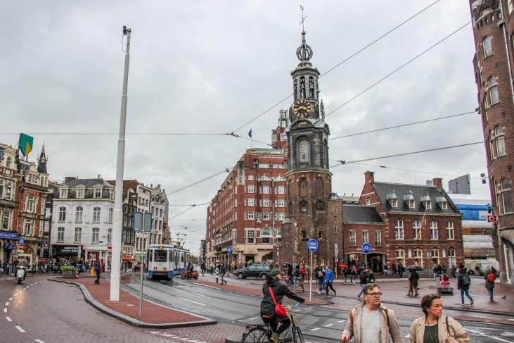 Square of Muntplein, Amsterdam, Netherlands