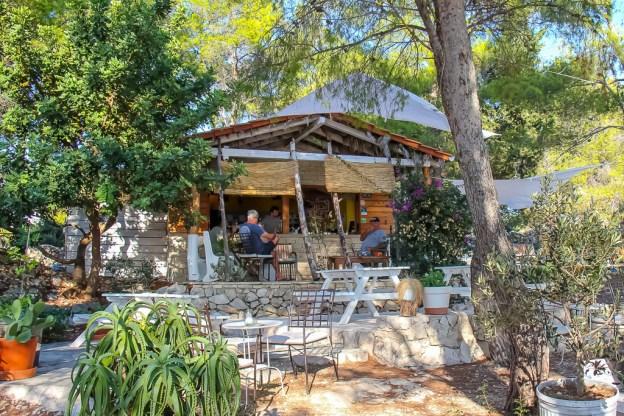 Falko Beach Bar in Hvar, Croatia