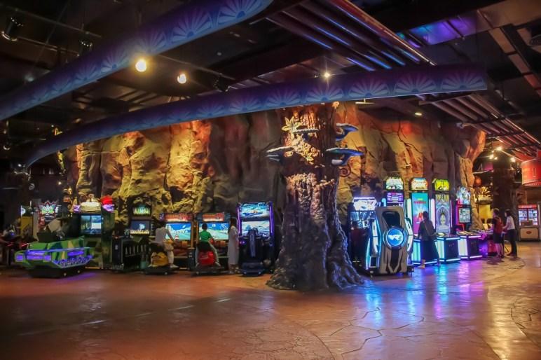 Fantasy Park arcade at Ba Na Hills in Da Nang, Vietnam