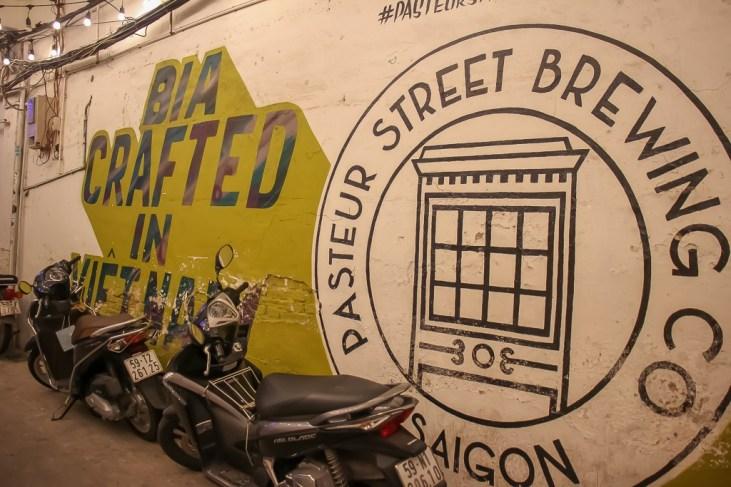 Alleyway to Pasteur Street Craft Beer, Ho Chi Minh City, Vietnam