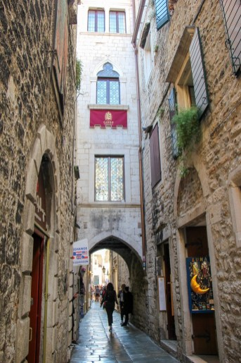 , Diocletians Palace, Split, Croatia