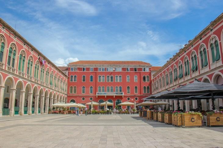 Republic Square, Split, Croatia