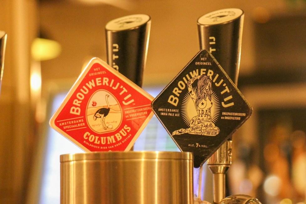 Best craft beer, Tap Handle, Brouwerij 't IJ Amsterdam