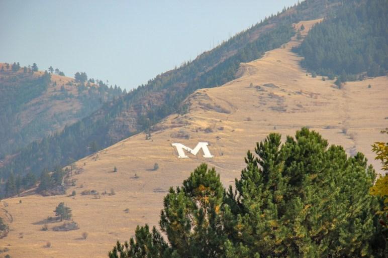 The M, Missoula, Montana