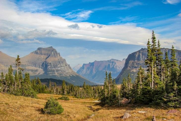 Hidden Lake Trail Views, Glacier National Park, Montana