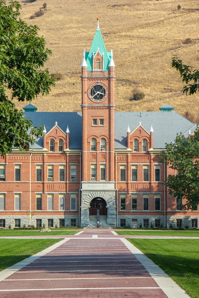 Uni Hall, University of Montana, Missoula