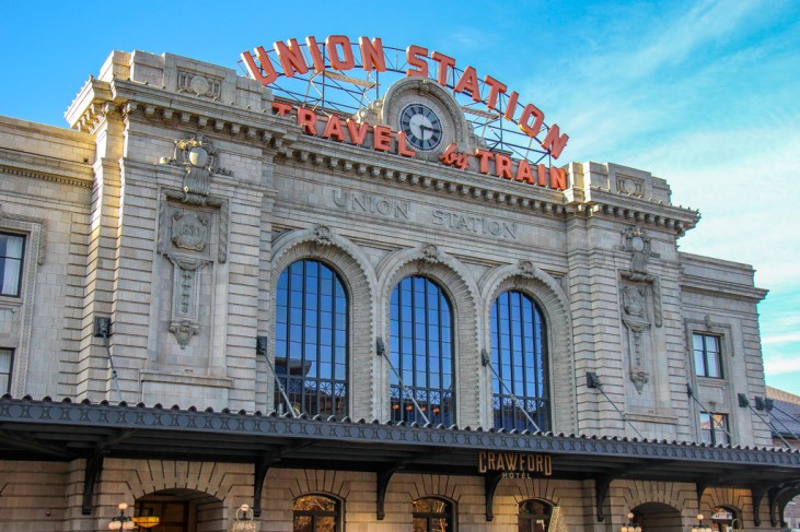 Classic Union Station in Denver, Colordao
