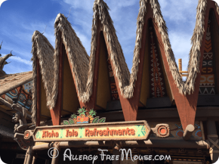 The new Aloha Isle location for Dole Whips
