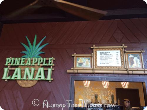 Polynesian Resort - Pineapple Lanai for Dole Whips