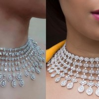 Magnificent Diamond Choker Necklaces