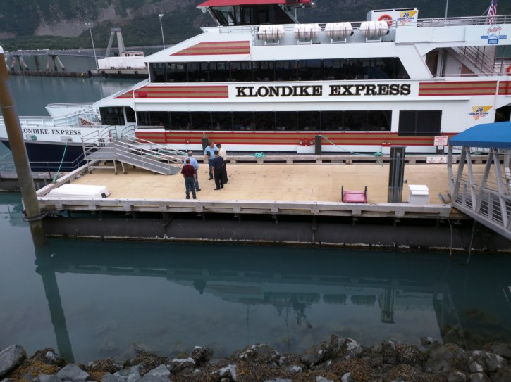 Klondike Explorer is our transportation today.