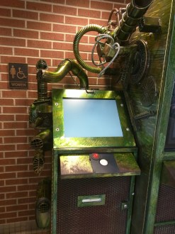 One of the interactive terminals