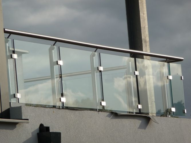 Glass Railing Ideas Designs To Make Your Balcony More Beautiful   Glass Handrails For Balcony   Glass Guardrail   Exterior   Stainless Steel   Staircase   Veranda