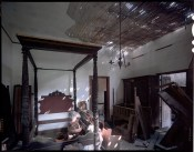 Bedroom, Germania Plantation; near Donaldsonville, LA; 1998