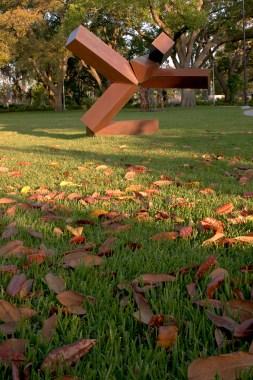 Sydney and Walda Besthoff Sculpture Garden; Joel Shapiro, sculptor; Lee Ledbetter, architect; Sawyer Berson, landscape architects; for New Orleans Museum of Art