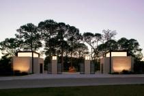 Sydney and Walda Besthoff Sculpture Garden; Lee Ledbetter, architect; Sawyer Berson, landscape architects; for New Orleans Museum of Art