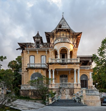 Villa Miramar, Port-au-Prince, from Creole World