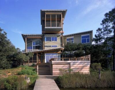 Private Residence, Seagrove Beach, Florida; Steven Shortridge, architect