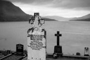 Cemetery Overlooking Killary Fjord