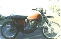 1975 Honda XL350