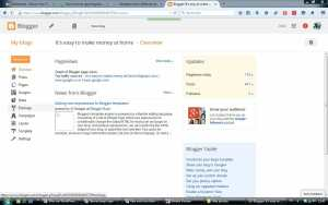 Blogger overview