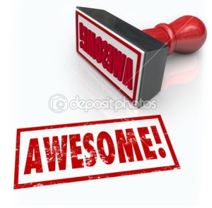 Awesome depositphotos_39072355-Awesome-Word-Rubber-Stamp-3D-Rating-Review-Feedback
