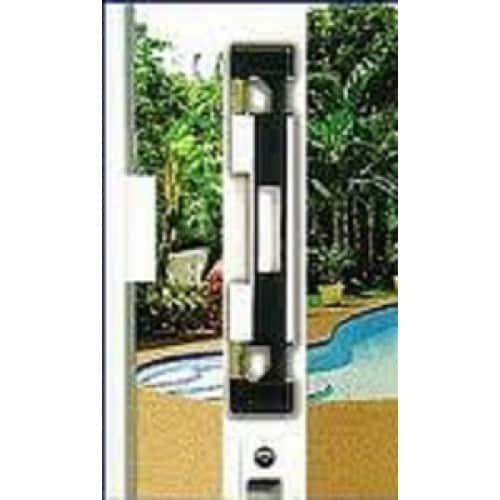 sliding patio door double bolt security lock