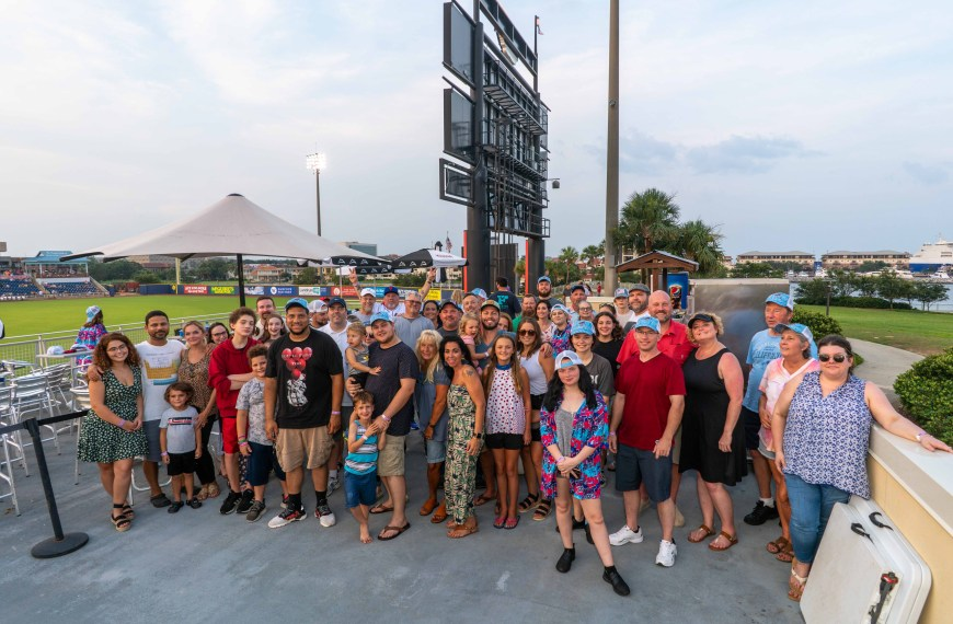 Celebrating Our Team with the Blue Wahoos
