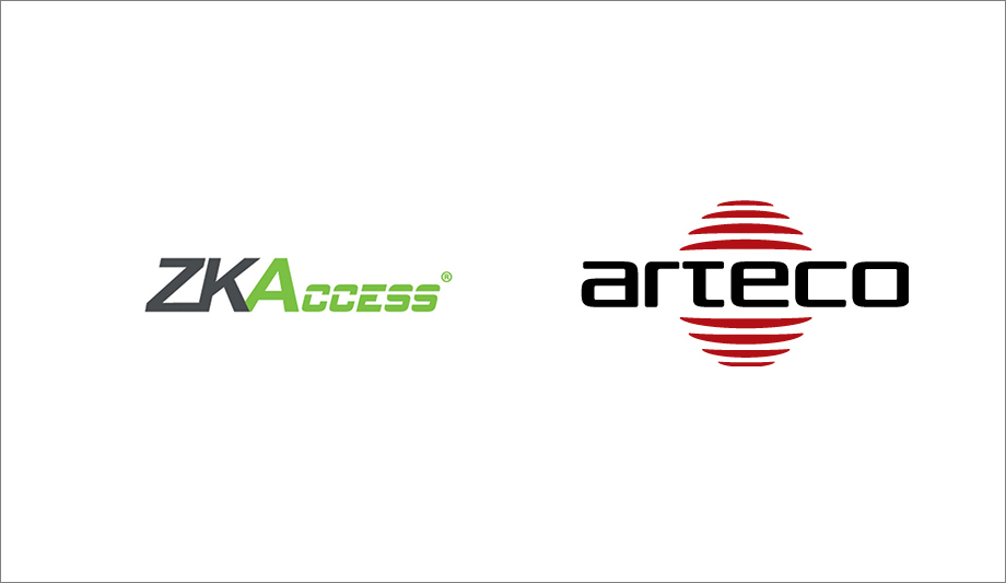 ZKAccess ZKBioSecurity software and Arteco VEMS