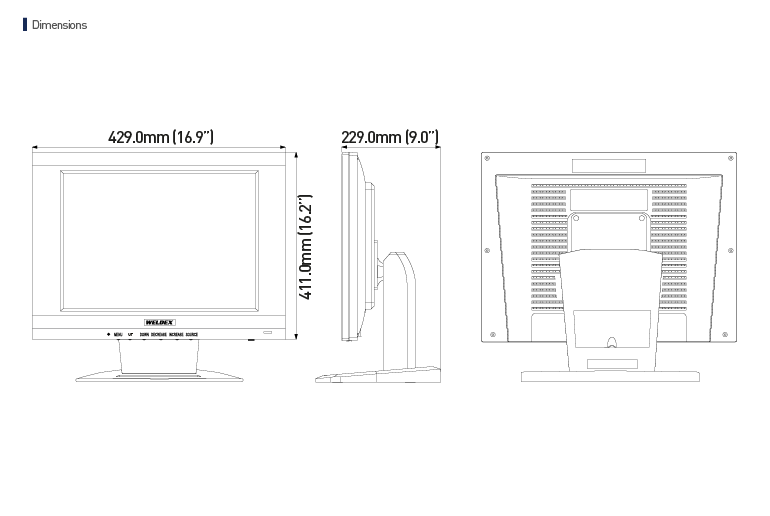 LCD : WDL-1700M
