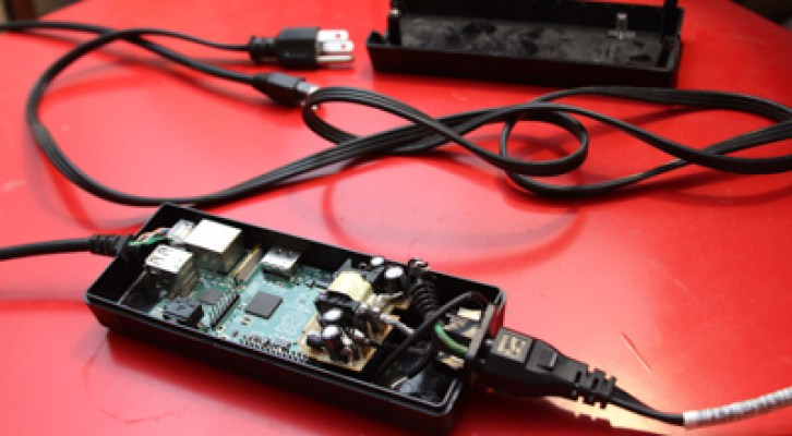 Raspberry Pi as physical backdoor to office networks