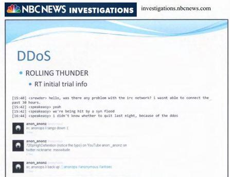 NBC slides Rolling thunder