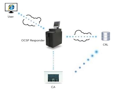 ocsp responder diagram certificate revocation checking