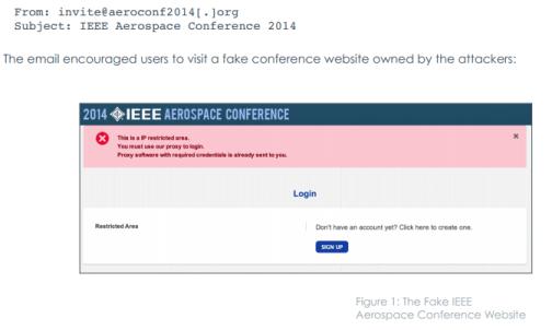 Ajax Security Team FireEye Operation Saffron Rose spear phishing