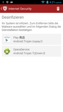 Android pre-installed malware
