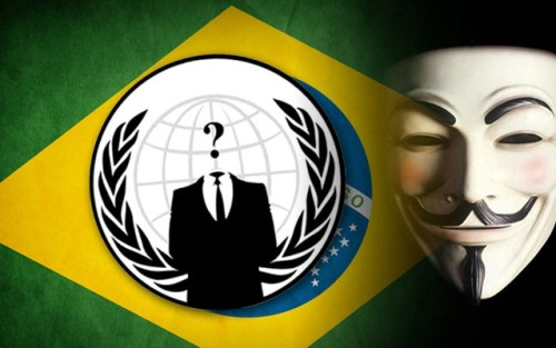 anonymous World Cup Brazil 2014