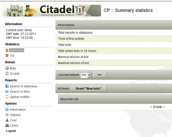 citadel panel