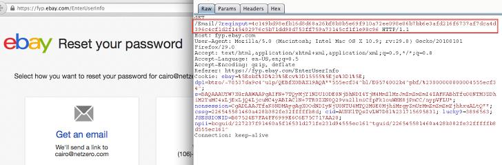 POC - Hacking any eBay AccountSecurity Affairs