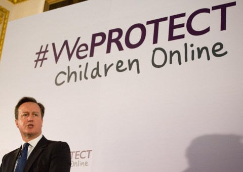 GCHQ against pedophilies Cameron